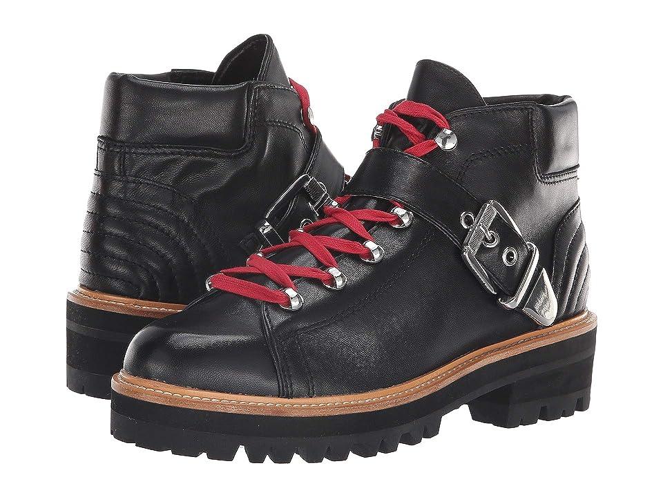 Marc Fisher LTD Indre (Black Leather) Women