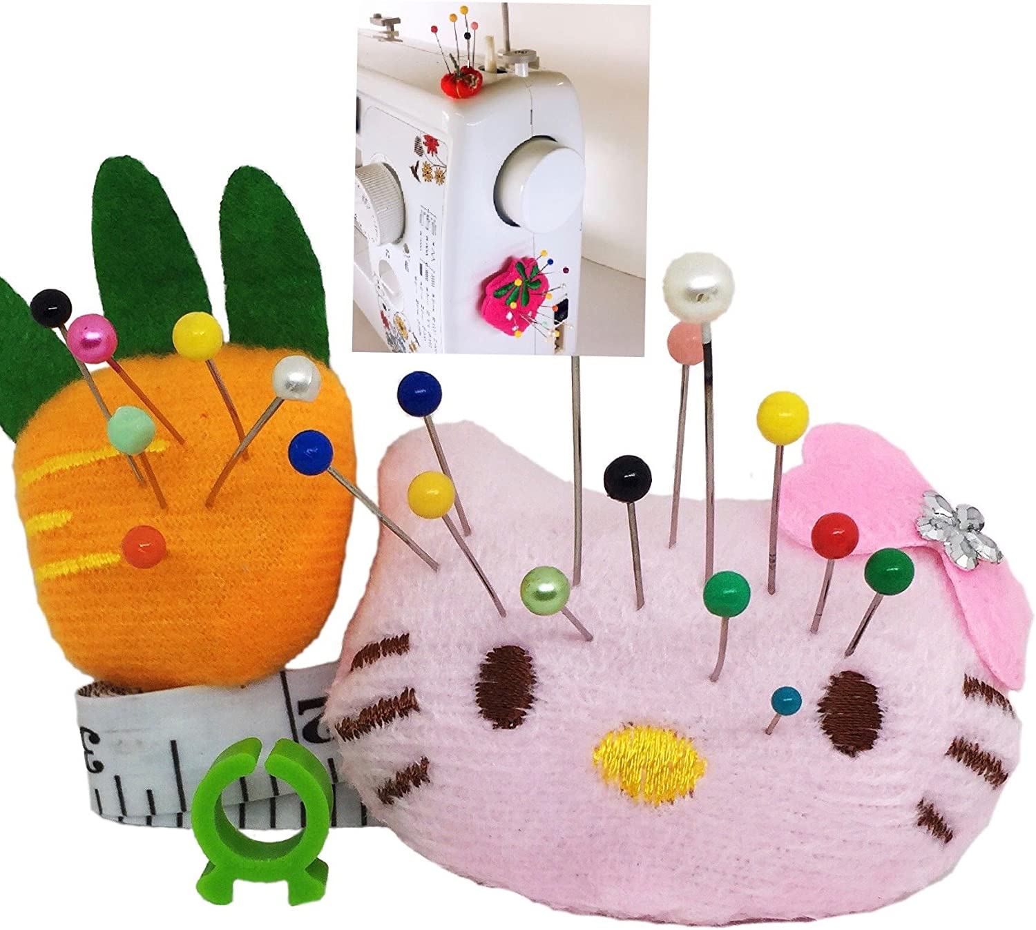 Pincushion for Sewing Machine Pin Holder Long-awaited Storage 2 OFFer Or pcs Needle