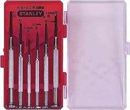 Stanley 1-66-039 zestaw wkrętaków precyzyjnych (6 sztuk)