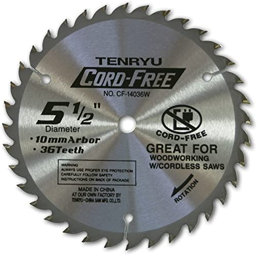 2021 Tenryu CF-14036W outlet sale Carbide Tipped Saw online Blade - 5-1/2 Inch sale