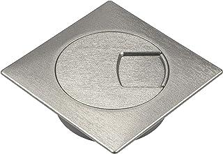 Gedotec H1010 Passe Cable |Passe Fils Design pour Bureau, Plan de Travail et Meuble d'Ordinateur|Organisateur de Table Arg...