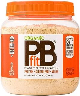 BetterBody Foods PBfit All-Natural Organic Peanut Butter Powder, 24 oz