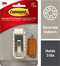 Command Hooks, Metal, Silver