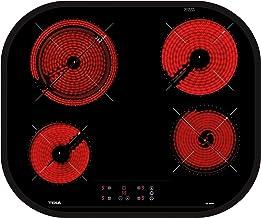 Teka Placa Vitrocerámica Modelo TC 6400 4 zonas Touch Control Negro 60CM