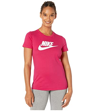 Nike Sportswear Tee Essential Icon Futura (Wild Cherry) Women