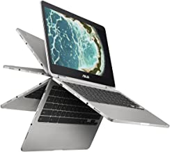 ASUS Chromebook Flip C302CA-DHM4 12.5-Inch Touchscreen Intel Core m3 with 64GB Storage and 4GB RAM Aluminum 12-12.99 inches