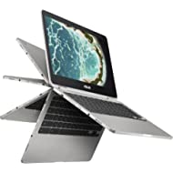 Asus C302CA-DHM4 Chromebook Flip 12.5-Inch Touchscreen Convertible Chromebook, Intel Core M3, 4GB...
