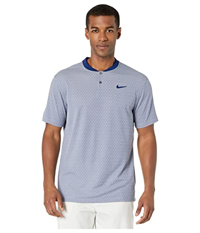 Nike Golf Dry Vapor Polo Texture Bold (Blue Void/Pure/Blue Void) Men