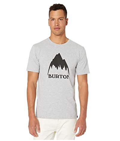 Burton Classic Mountain Short Sleeve Tee (Gray Heather) Men