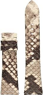 Michael Kors Access Bradshaw Python Leather Smartwatch Strap MKT9008