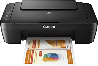 Canon MG Series PIXMA MG2525 Inkjet Photo Printer with Scanner/Copier, Black