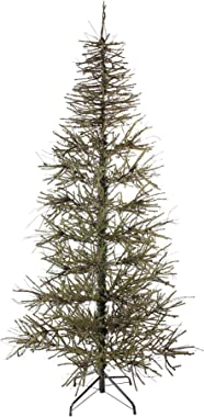 Northlight 6' Warsaw Two-Tone Twig Artificial Christmas Tree - Unlit