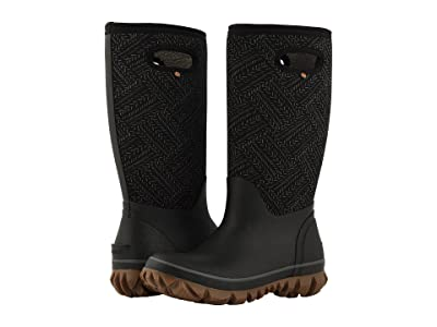 Bogs Whiteout Fleck (Black) Women