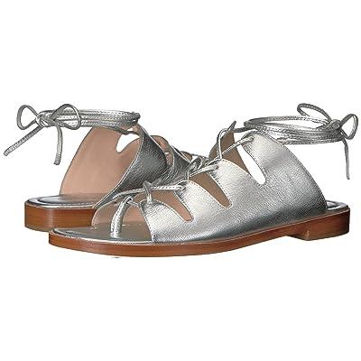 Loeffler Randall Kira (Silver Leather) Women