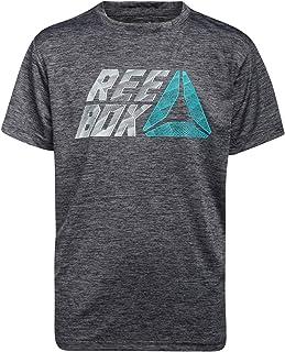 Reebok Boys Performance Quick Dry Athletic Sports T-Shirt