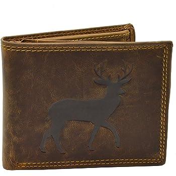 Geldbörse mit Hirschmotiv Ouerformat