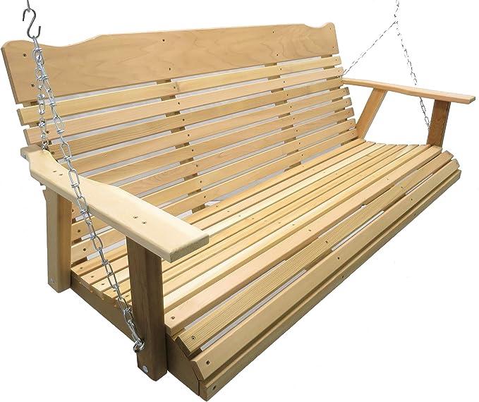 Kilmer Creek 5 Foot Natural - Well-Built Cedar Swing