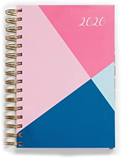 2020 KIT Lite Daily Planner - Chic Women's Organizer with Monthly Calendar – Spiral Bound Appointment Book – Schedule Your... photo