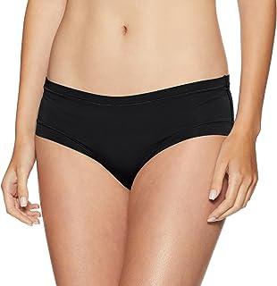 Marks & Spencer Women's Plain/Solid Hipster (T617089BLACK_10_4470281) Black