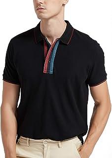 Navifalcon Mens Polo Shirts Short Sleeve with Collar 100%...