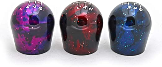 Billetworkz Cosmic Space Shift Knob for 2012+ Ford Focus ST/RS and Fiesta ST 6 Speed