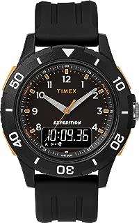 Mens Analogue-Digital Quartz Watch with Resin Strap TW4B16700