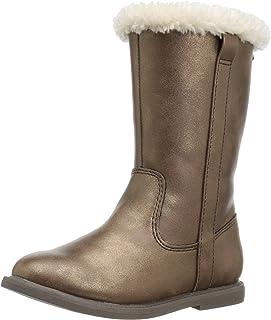 Carter's Girls' Matilda2 Fashion Boot, Bronze, 7 M US Toddler
