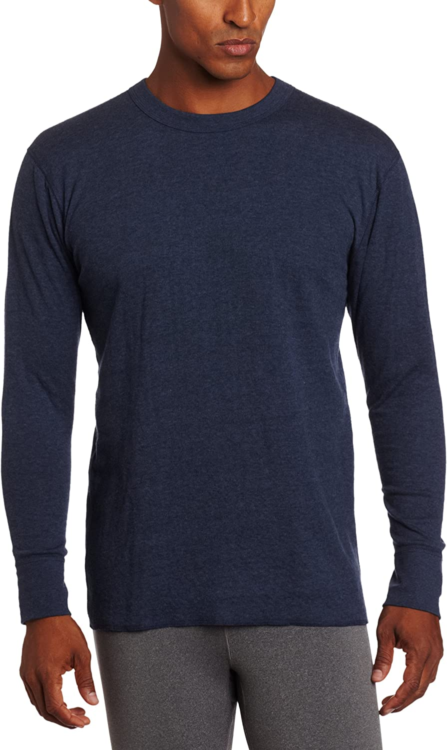 Duofold Men's Big-Tall Heavy Weight Plus Crew Thermal Top