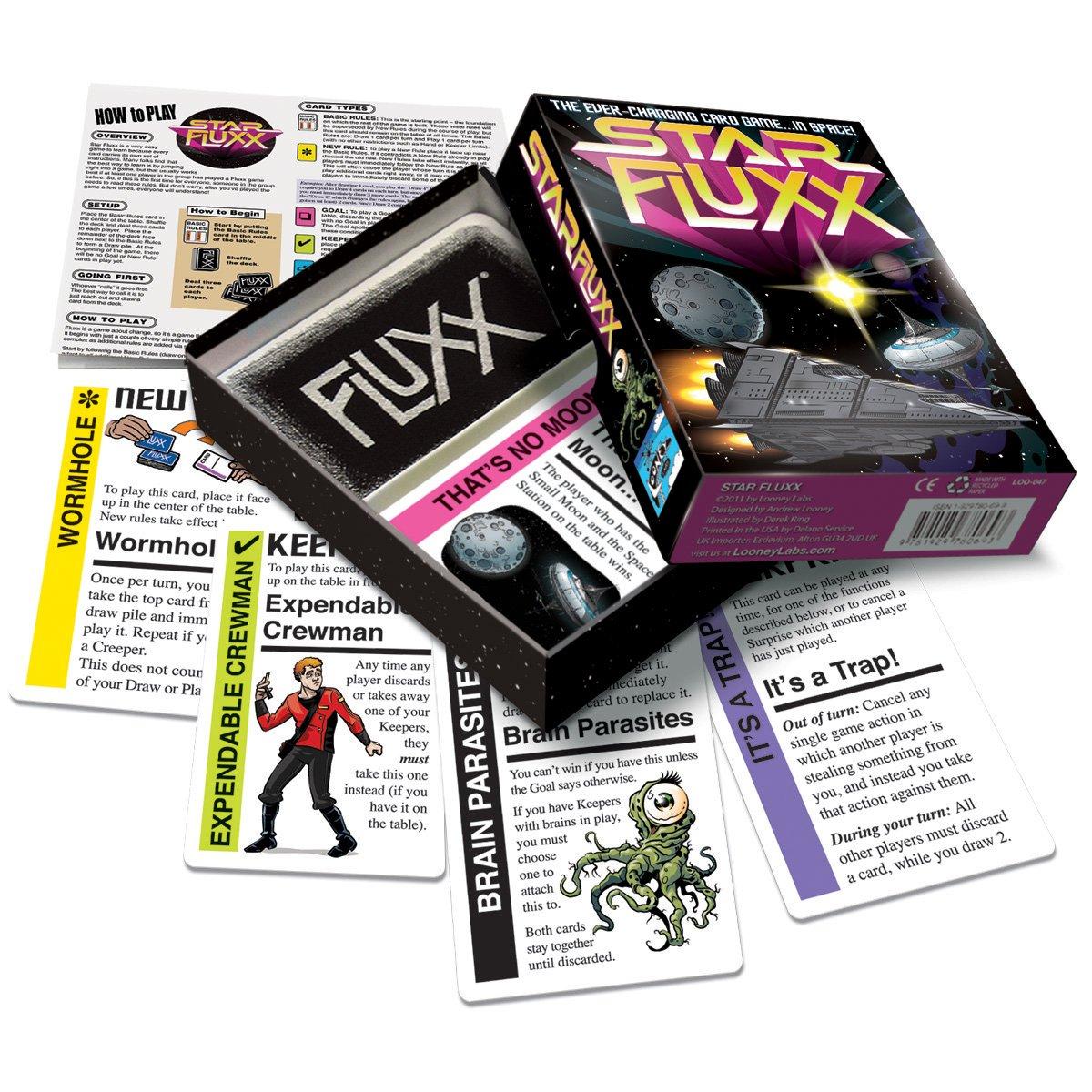 CARD GAME-STAR FLUXX: Looney Labs: Amazon.es: Juguetes y juegos