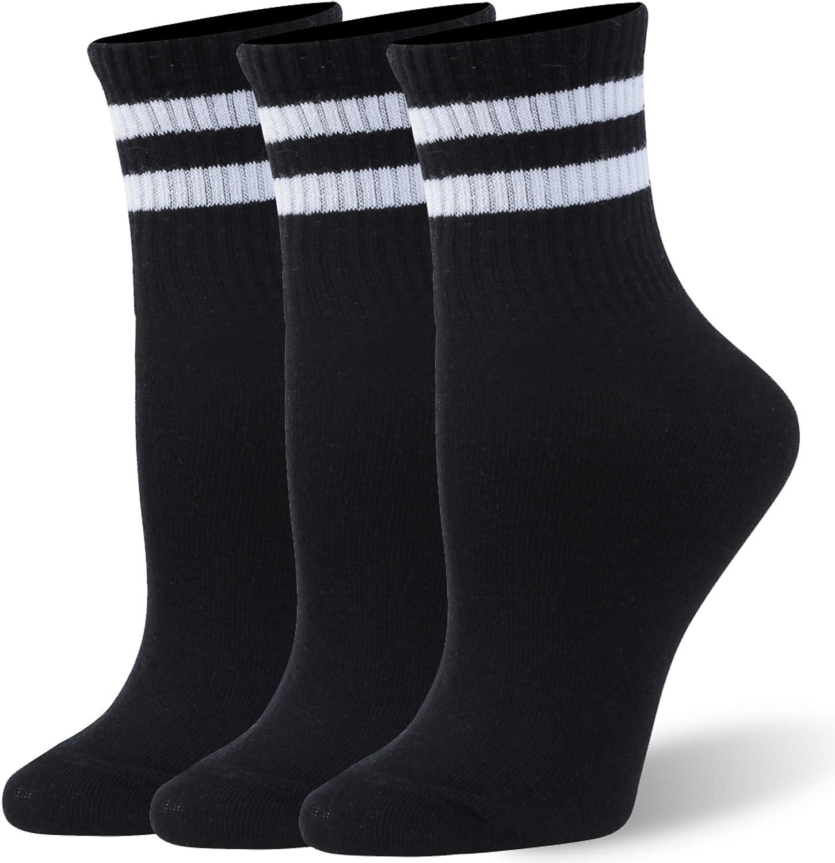 WXXM Unisex Cotton Casual 5 popular Crew 6 Socks Pairs 3 Cheap bargain