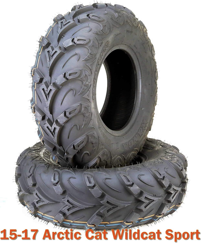 Spring new work 26x8R12 Radial ATV Front Tires Set Limited time sale UTV 15-17 Ca Sport Arctic for