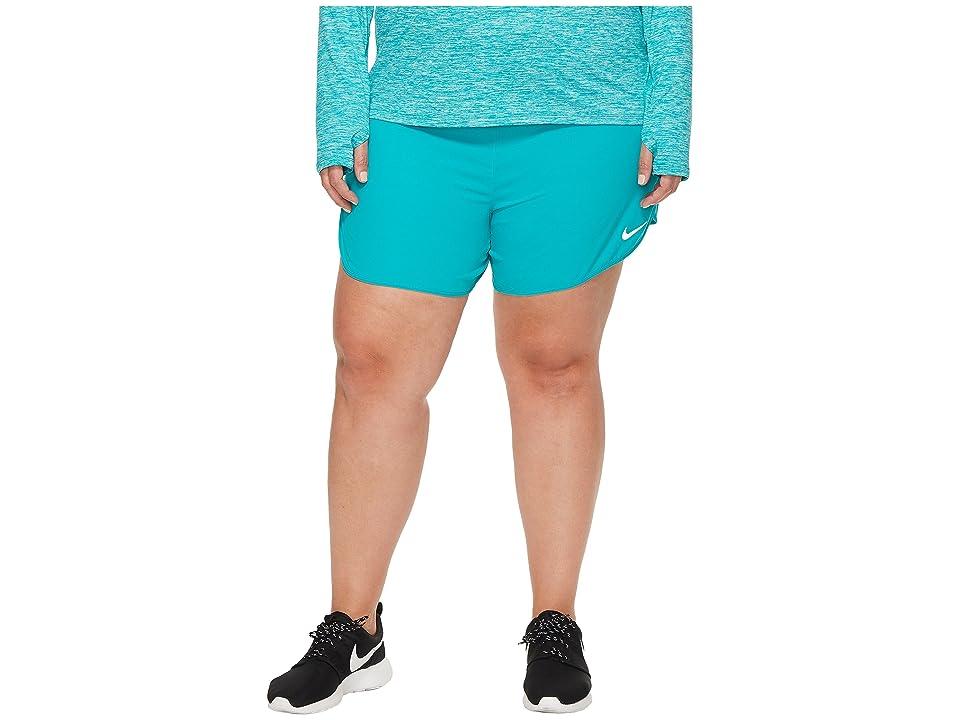 Nike Flex 5 Running Short (Size 1X-3X) (Turbo Green) Women