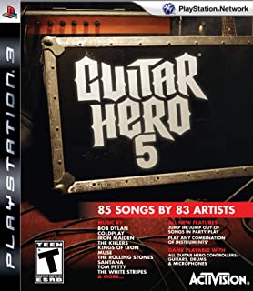 Guitar Hero 5 Stand Alone Software - Playstation 3 (Game only) (Renewed)