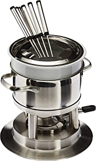 Swissmar Arosa 11 Piece Stainless Fondue Set