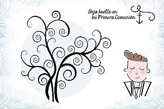 Árboles De Huellas Para Comuniones Niño - Arboles Huellas para Personalizar, Personalizados, Comuniones