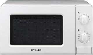 comprar comparacion Daewoo KOR-6F07 Microondas, 20 litros, manual, sin grill, color blanco, 700 W
