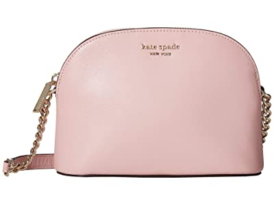 Kate Spade New York Spencer Small Dome Crossbody (Tutu Pink) Handbags