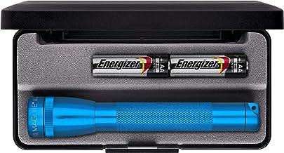 Mag-Lite M2A11L Mini Maglite AA zaklamp 14,5 cm blauw in doos, incl. 2 Mignon-batterijen