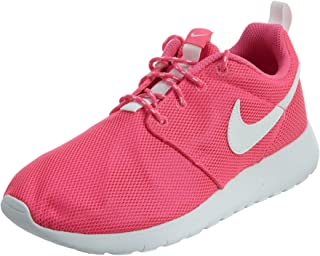 Nike Big KidS Roshe One GS Running Shoes, Pink Blast/White, 6.5 M US Big Kid