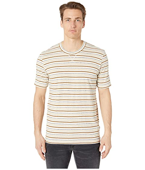 Billy Reid Short Sleeve Striped Tee