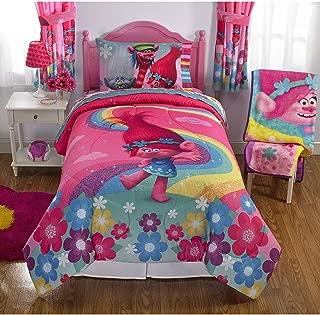 Dreamworks Trolls Show Me A Smile Full Comforter and Sheet Set