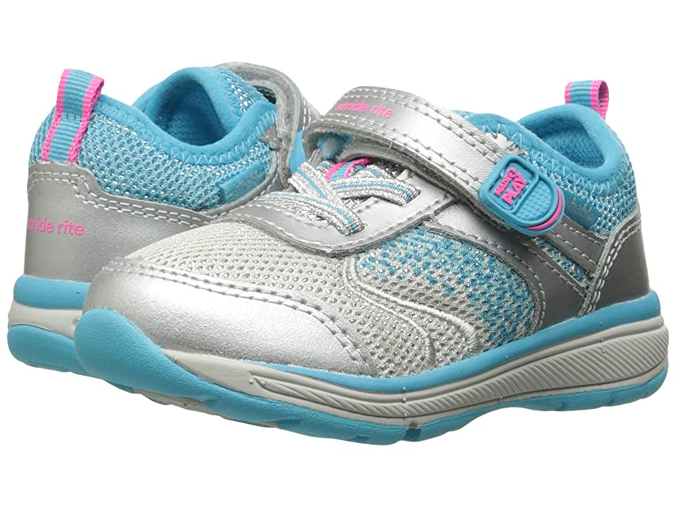 Stride Rite Made 2 Play Ellie (Toddler/Little Kid) (Silver) Girls Shoes