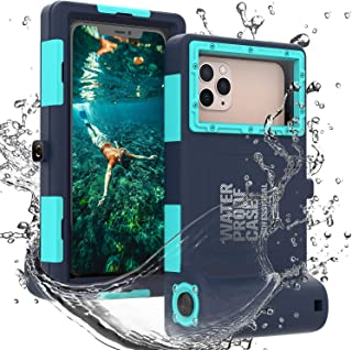 Professional 50ft Diving Phone Case for All Samsung iPhone Series, Universal Waterproof Cell Phone Cover for Outdoor Surfi...