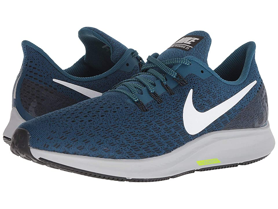 Nike Air Zoom Pegasus 35 (Blue Force/White/Black/Wolf Grey) Men