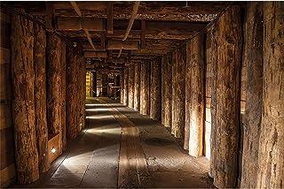 GREAT ART Mural De Pared – Minas De Sal Wieliczka Polonia – UNESCO Patrimonio De La Humanidad Minería De Sal Viga De Madera Tapiz De Foto Papel Pintado Y Decoración (210x140 Cm)