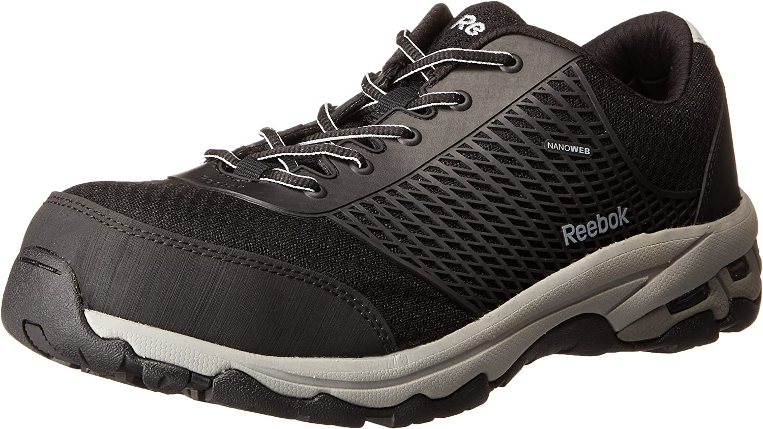 Reebok Work Men's Heckler RB4625 ESD Athletic Safety shoes