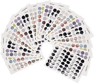 63mm Mezclados Círculos de código de color Redondo De Paquetes Surtidos puntos Pegatinas Etiquetas Adhesivas