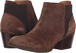 Earth Brown Oiled Cow Suede