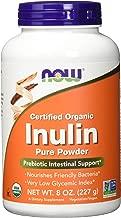 Now - Organic Inulin Powder 8 Oz