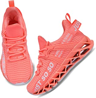Sponsored Ad - UMYOGO Boys Girls Shoes Tennis Running Lightweight Breathable Sneakers for Kids